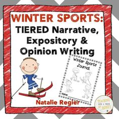 $ Looking for ideas to support the writing development of students in your classroom? Use these narrative, informative, and opinion winter sport writing activities.