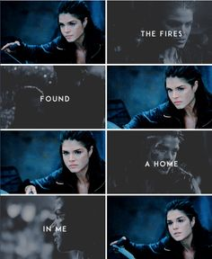 I'm a princess cut from marble, smoother than a storm And the scars that mark my body, they're silver and gold #the100