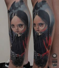 Tattoo artist Dima Khominskiy color and black&grey authors realistic tattoo | Wroclaw, Poland