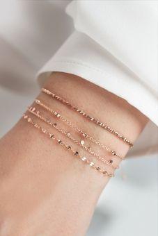 I love these delicate bracelets