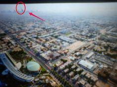 výhled z Burdž al Arab.....a co je to támhle za budovu
