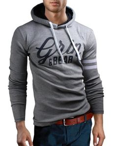 Storopa - (Germany): Bekleidung: Grin® SlimFit Classic Hooded T 6 verschiedene Farben - Kaufen Neu: EUR 26,89 [Available In Germany]