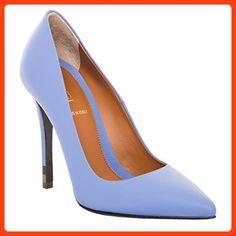 005b56370259 Fendi Women s Anne Stiletto Pump Leather Nebula 35 M EU Stiletto Boots,  Leather Heels,