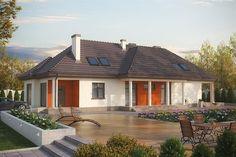 projekt Kryspinów DM-6348 KRF1605 Gazebo, Outdoor Structures, Mansions, Studio, House Styles, Outdoor Decor, Home Decor, Dm, Twitter