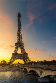 Morning Eiffel