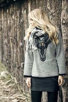 *Sweater Neck *Pollera Bella *Chal Bootes #FancyNomad #IndiaStyle #Colección #Lookbook #FW16