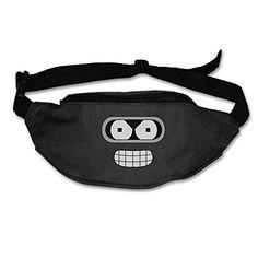 NaDeShop Futurama Bender Face Fanny Waist Pack Running Bag * For more information, visit image link.