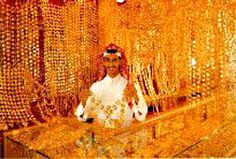 Gold Souks in Riyahd, Saudi Arabia - I miss the markets in Saudi. Oh, the beautiful gold. Never seen anything like it.