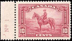 Canada #223, F+, MH