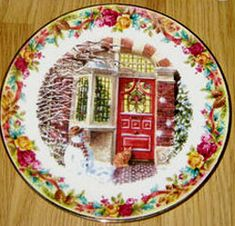 RP: Royal Albert Christmas Collector Plates - Yuletide Greeting