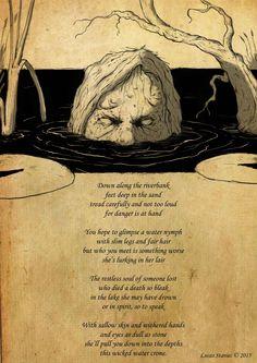 """""""The wicked water crone"""". Jag känner inte till den här sen tidigare, men jag gillar den."""