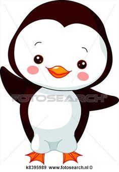 plezier, zoo., penguin Bekijk Grotere Grafiek