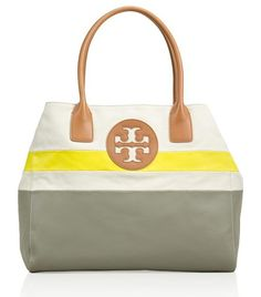 Dipped Beach Tote | Womens Sale | ToryBurch.com