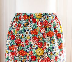 Fast and Easy DIY Skirt
