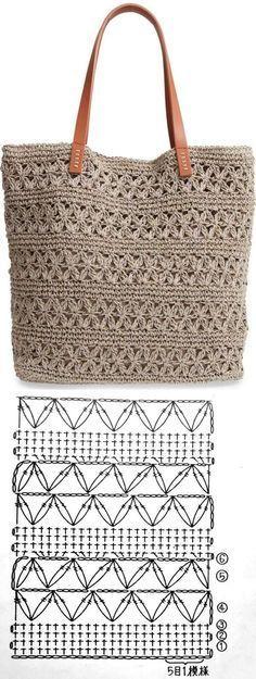 Crochet handbags 624241198338488036 - Bolsa de crochê Summer Bag ⋆ De Frente Para O Mar, Source by acapgui Crochet Tote, Crochet Handbags, Crochet Purses, Crochet Crafts, Crochet Stitches, Crochet Projects, Crochet Patterns, Knitting Patterns, Crochet Diagram