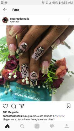 Lace Nails, Stunning Makeup, Gel Nail Art, Cool Nail Designs, Manicure And Pedicure, Pretty Nails, My Nails, Beauty, Nail Jewels