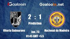 Vitoria Guimaraes VS Nacional da Madeira