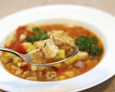 "Chef Van Aken writes: ""I have made a version of this soup for over 20 years now and I never tire of it."