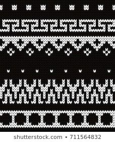 Knitted seamless pattern fair isle motives Knitting Charts, Lace Knitting, Knitting Stitches, Knitting Patterns, Knit Crochet, Pattern Design, Cross Stitch, Tapestry, Scrappy Quilts