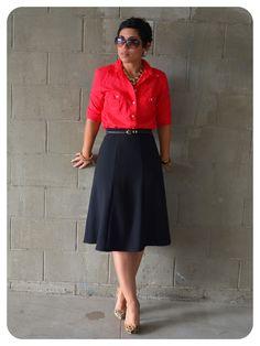 mimi g.: DIY Classic Skirt: Butterick Pattern PR B3134