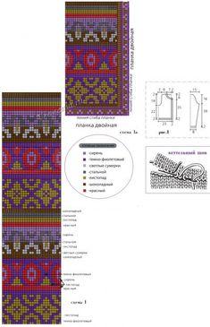 Схемы и выкройка для вязания жакета