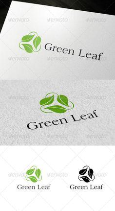 Green Leaf Logo - Nature Logo Templates