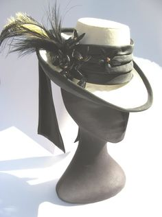 Victorian Bustle Hat - CLOTHING #Hornet