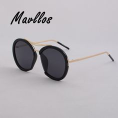 27.24$  Buy here  - Mavllos  Eyewear Big Butterfly Sunglasses Women Luxury Brand Designer Vintage 5 color Sunglasses Female 2017 TAC Lens outdoor