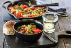 MIDDAG | TRINES MATBLOGG Frisk, Food And Drink, Soup, Eat, Recipes, Spinach, Food Recipes, Soups, Rezepte