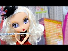 How to Make a Doll Flute with a Case - YouTube