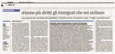 Continuità Territoriale. Hanno più diritti gli immigrati che noi siciliani   Comitato Pendolari Siciliani
