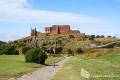 Burgruine Hammershus, Insel Bornholm #ruine #burg #hammershus #bornholm #daenemark