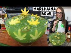 MARIJUANA JUNGLE JUICE BOWL 3 oz. (90ml) Bacardi 151 3 oz. (90ml) Everclear 4 oz. (120ml) Coconut Rum 4 oz. (120ml) Melon Liqueur 4 oz. (120ml) Captain Morgan 100 10 oz. (300ml) Pineapple Juice Kiwi Slices Pineapple Slices (shaped like marijuana leaves) PREPARATION 1. Cut pineapple slices into marijuana leaf shapes. 2. Combine ingredients in …