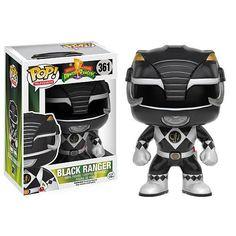 Funko POP! Television: Mighty Morphin Power Rangers Vinyl Figure - Black Ranger