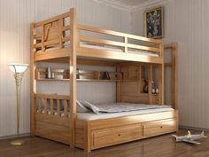 Bunk Beds For Boys Room, Bunk Bed Rooms, Bed For Girls Room, Twin Bunk Beds, Kid Beds, Kids Bedroom, Kids Room Furniture, Bed Furniture, Furniture Design
