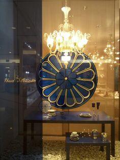 Hermes Purifocat Saint Louis window display, Jakarta visual merchandising