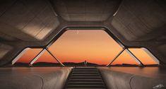 Spaceship Interior, Futuristic Interior, Spaceship Art, Spaceship Design, Futuristic Architecture, Space Australia, Banners, Space City, City Aesthetic