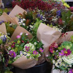 flowers market, amsterdam