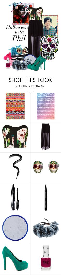 """kiss me you animal"" by annieisawallflower ❤ liked on Polyvore featuring Paper Dolls, Pull&Bear, Laura Mercier, Lancôme, Giorgio Armani, Rock 'N Rose, Jessica Simpson and Topshop"