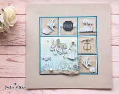 Sea of Textures, Waterfront, Seaside Shores stamp sets Jaxx Crafty Creations