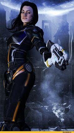 Mass Effect,фэндомы,ME art,Miranda Lawson