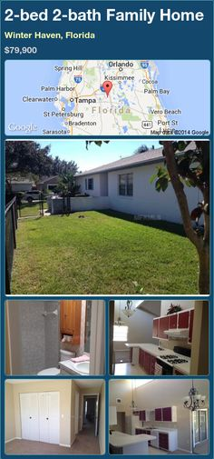 2-bed 2-bath Family Home in Winter Haven, Florida ►$79,900 #PropertyForSale #RealEstate #Florida http://florida-magic.com/properties/71110-family-home-for-sale-in-winter-haven-florida-with-2-bedroom-2-bathroom