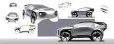 Autonomous CUV on Behance