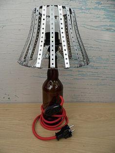 Светильник из пивной бутылки.Тайник Светильников.