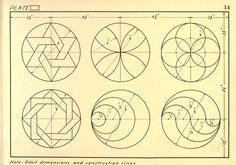 Geometrical Drawing: a collection of plates for use in elementary ...