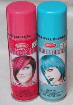 Blue Temporary Hair Color Spray 3oz | Want to do with @Taylor Perez ...