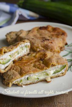 ricetta leggera cordon bleu zucchine e provola ricetta secondo piatto gustoso ripiene al forno senza frittura