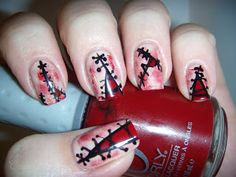 Onyx Nails: Dr. Frankenstein's Been Busy Manicure