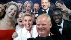 The Ultimate Selfie w/ Jimmy Kimmel and Rob Ford