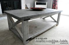artisan des arts: DIY - Oxidized wood X coffee table